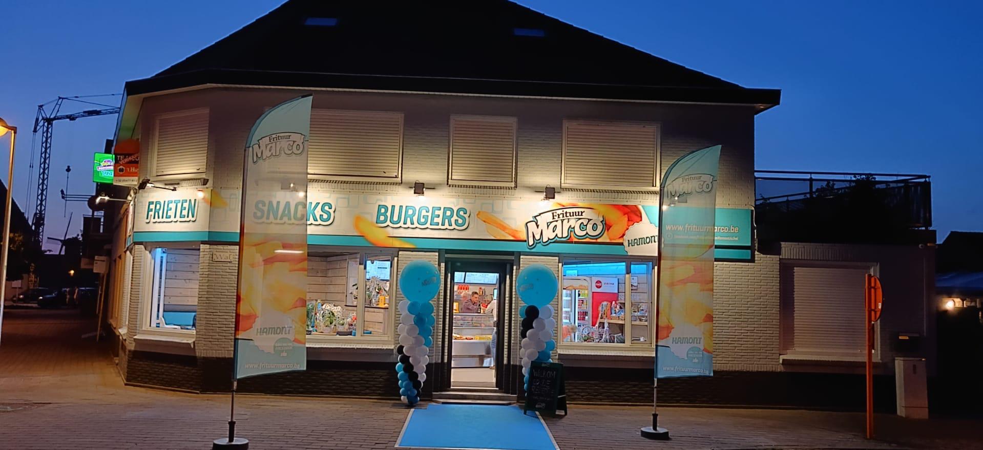 Van een verjaardagsfeest tot een groot evenement: Frituur Marco bvba is er voor u.